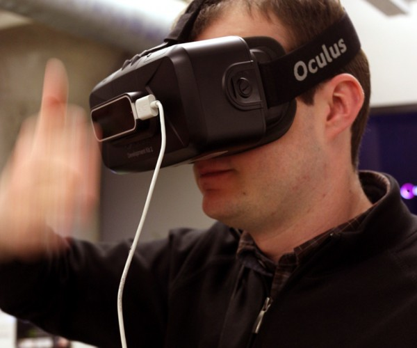 Leap Motion Quick Switch App for Oculus Rift Toggles Between Real Life & Virtual Reality