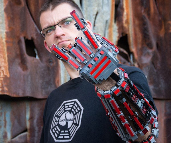 LEGO Arm Exoskeleton: Cyberpunk is Awesome