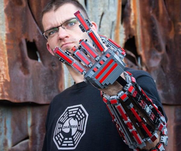 LEGO Arm Exoskeleton: Cyberpunk is Awesome