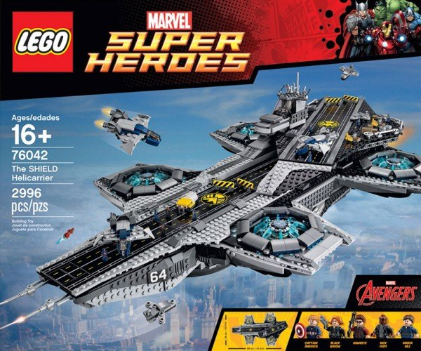 LEGO UCS SHIELD Helicarrier Will Soon Be Yours to Assemble