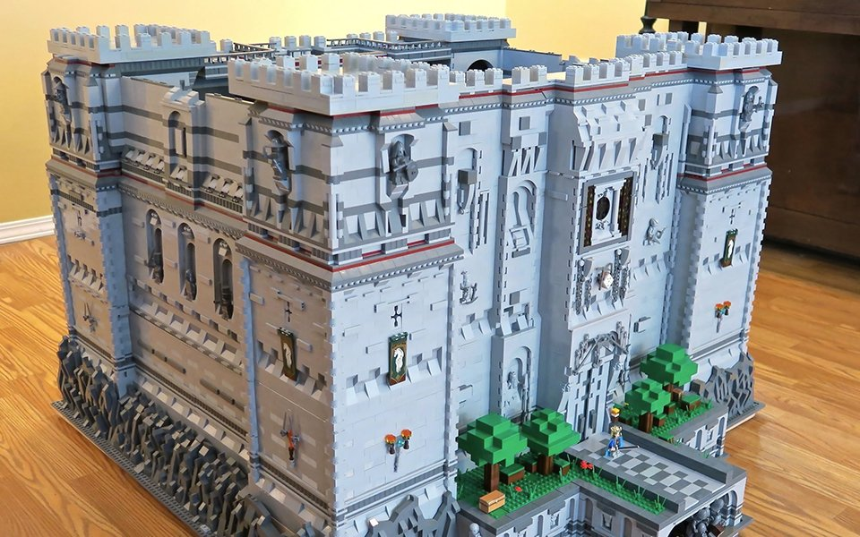 Fan Made Lego Minecraft Castle  Steve U0026 39 S Crib