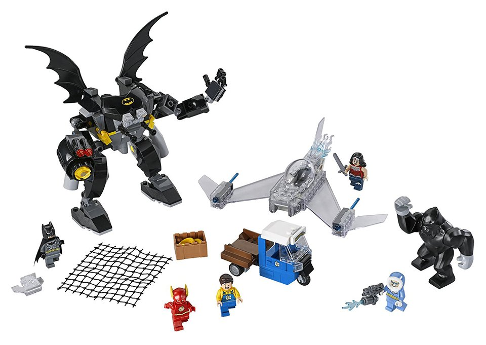 LEGO Wonder Woman Invisible Jet is, Well, As You Can See ...