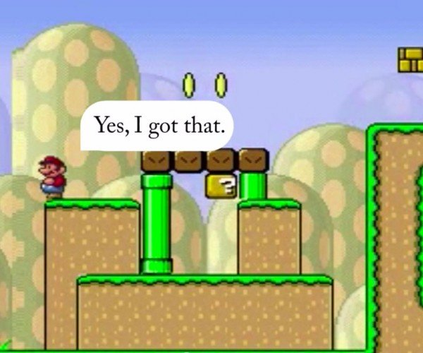 Mario Gets AI So He Can Play His Way