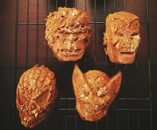This Superhero Banana Bread Looks MARVELous