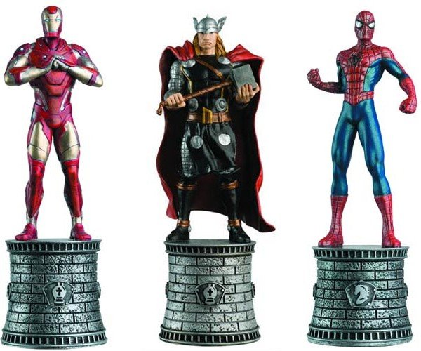 Comic Book Chess Pieces Look MARVELous