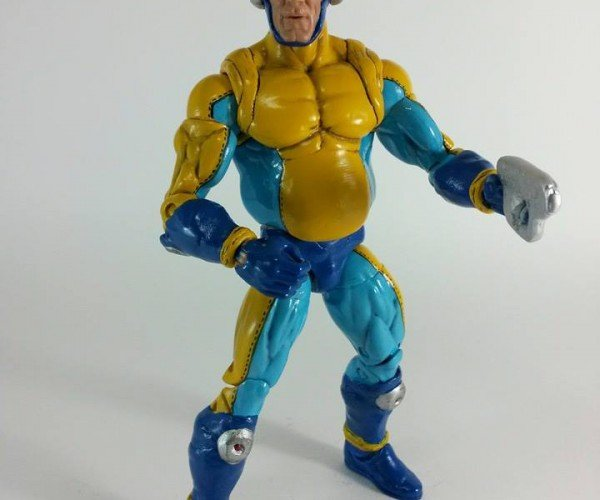 Mega Man Bad Box Art Custom Action Figure: Mega Belly
