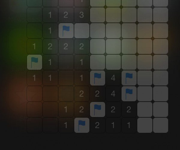 Minesweeper on the iOS 8 Notification Center: Blow up Your Free Time