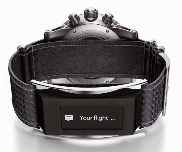 Montblanc E-Strap: A Smartwatch That Hides Behind a Real Watch