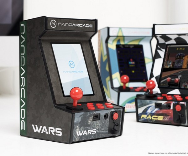 Nanoarcade: A Tiny Arcade Cabinet on the Cheap