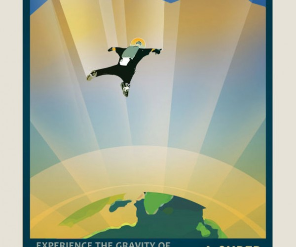 NASA Travel Posters for Exoplanets it Discovered: Vacation in Space