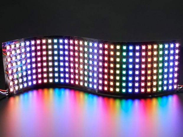 neopixel_8_x_32_flexible_rgb_led_matrix_adafruit_1