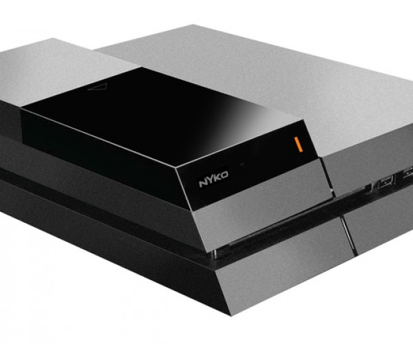 Nyko PS4 Data Bank Adds Room for 3.5″ Hard Drives: Bigger Brain, Bigger Noggin
