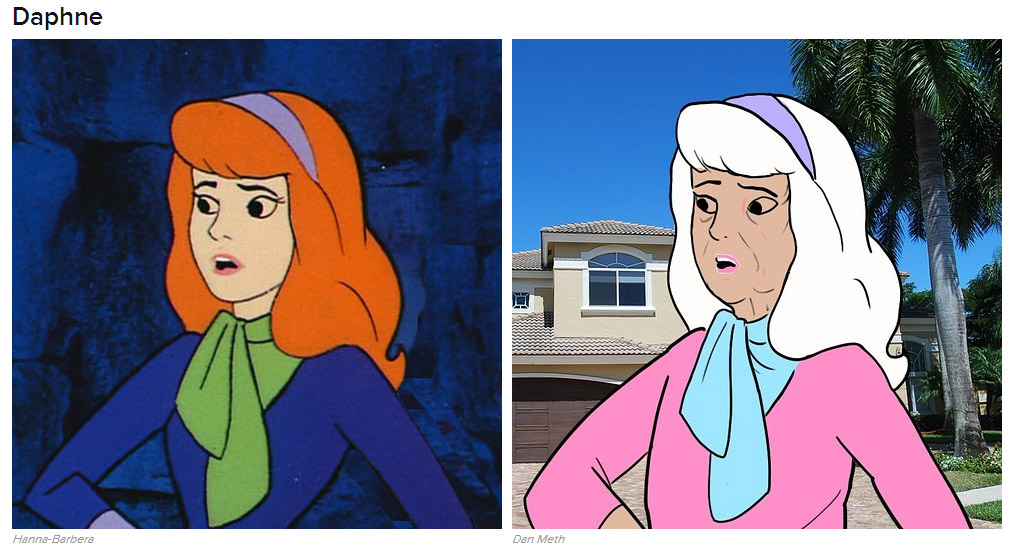 Aged cast of scooby doo could still solve mysteries technabob - Daphne dans scooby doo ...