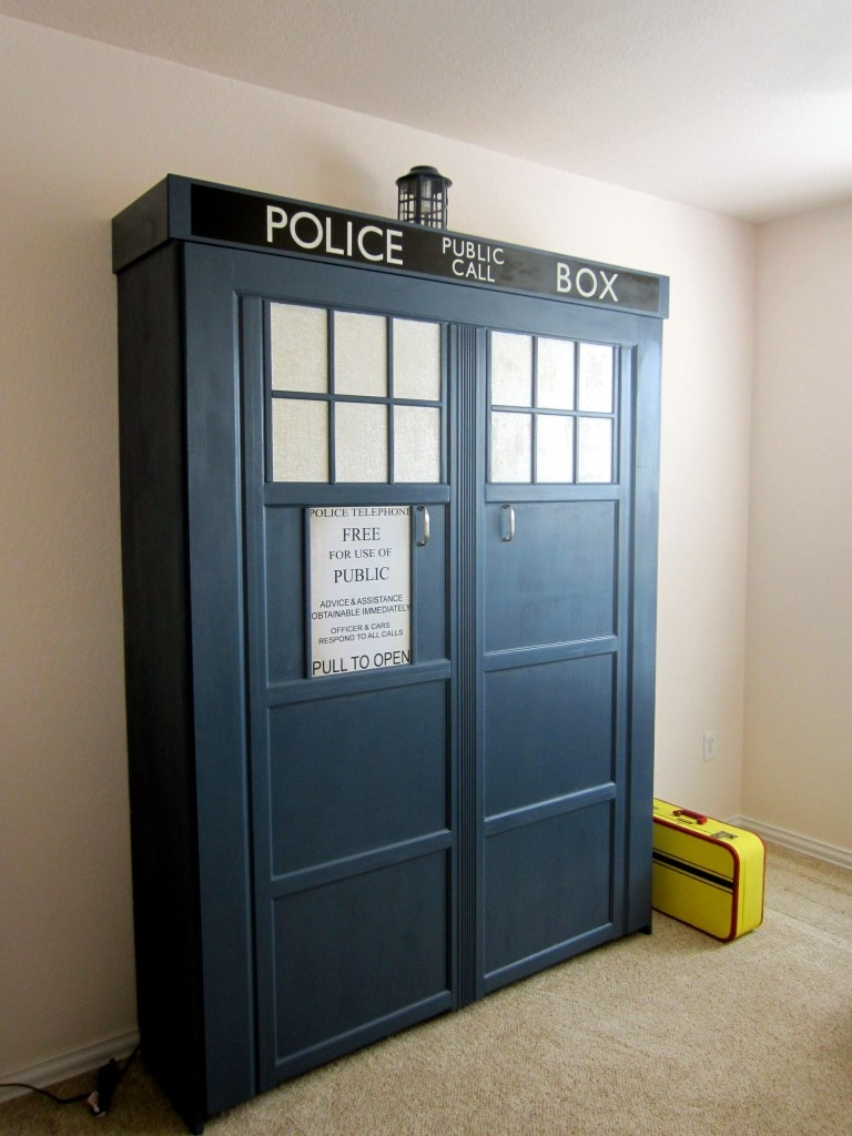 Tardis Murphy Bed Catch Some Allons Zzzzz S