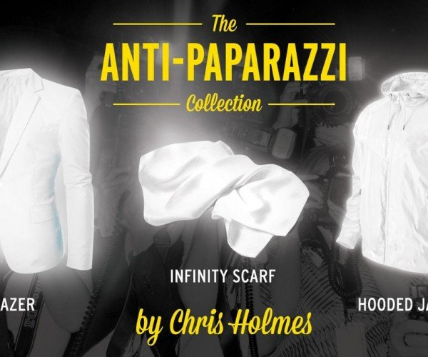 Anti-Paparazzi Clothing Makes You Photo-Proof