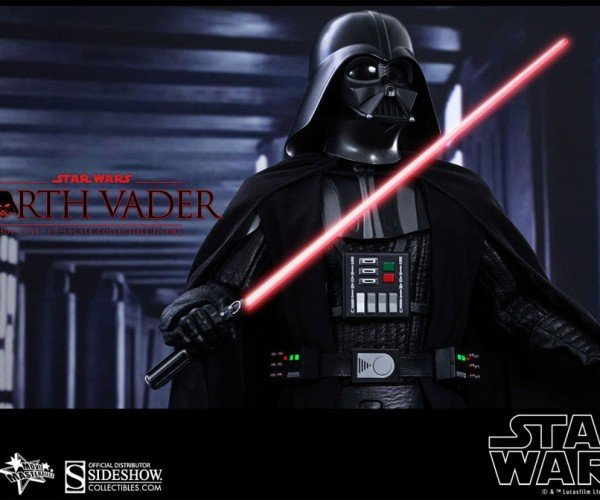 Hot Toys Darth Vader Action Figure Force Crushes Wallets