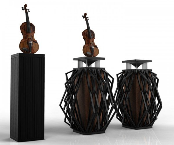 Viotone M One Speaker Pipes Sound Through a Violin: String Theory