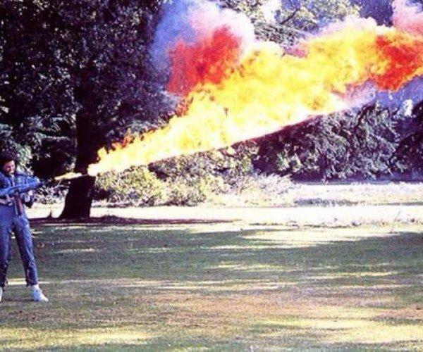 Nothing to See Here but Sigourney Weaver Using a Flamethrower