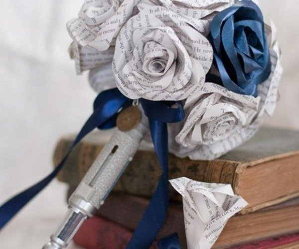 Doctor Who Bouquet with Sonic Screwdriver