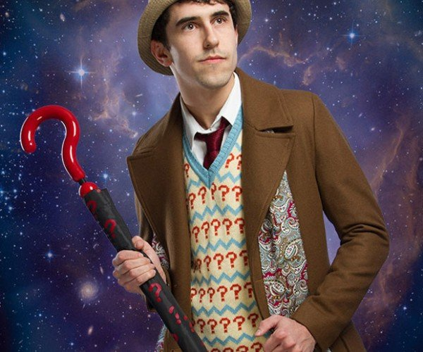 Own the Seventh Doctor's Umbrella and Stop the Rainey Wainey