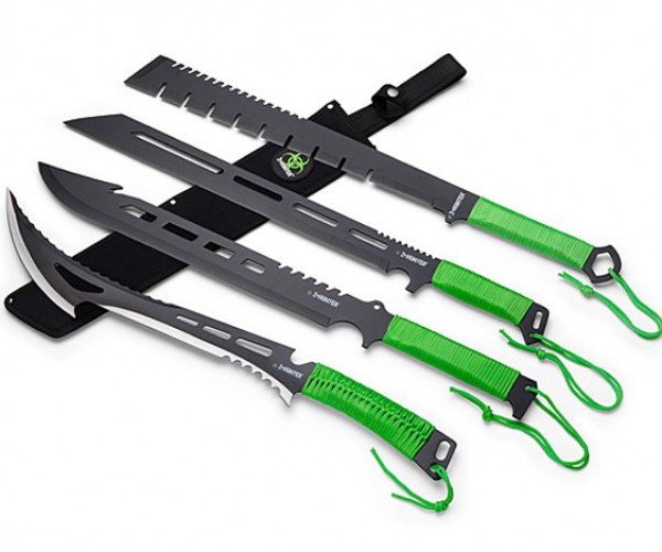 Z-Hunter Machetes are for Slicing, Dicing, and Chopping Zombies