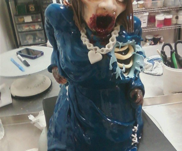 This Zombie Cake Is Gruesomely Delicious