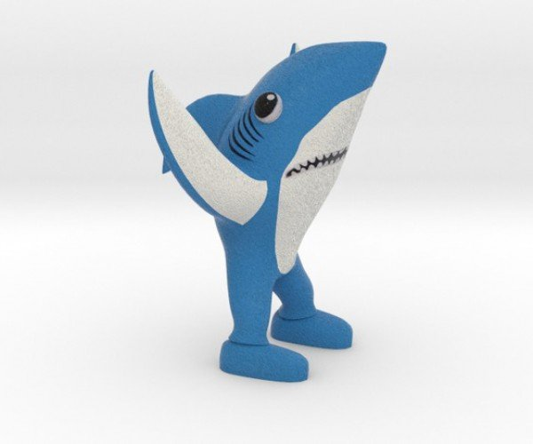 3D Printed Super Bowl Left Shark: The Real Teenage Dream