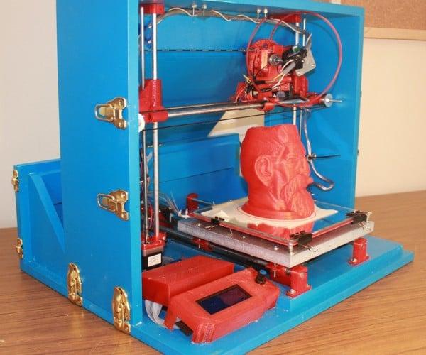 DIY 3D Printer Suitcase: Print in a Box