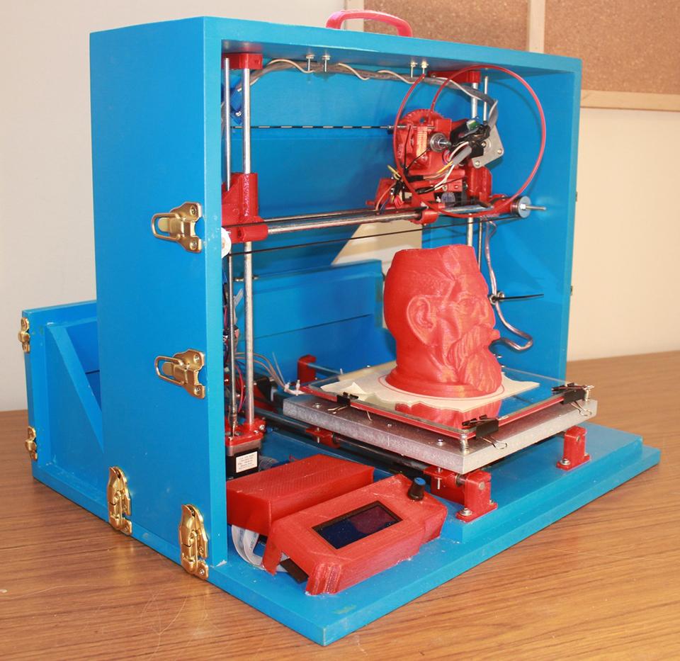 3d printer schematics  | technabob.com