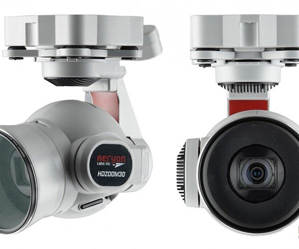 Aeryon HDZoom30 Camera Lets Drone Operators Identify Faces from 1000ft. Away: There\