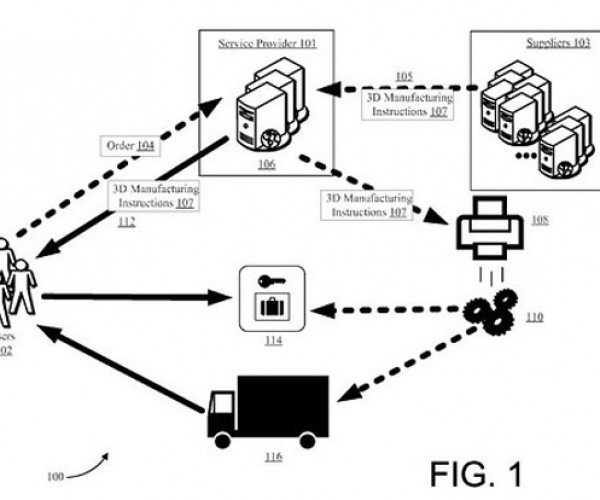 Amazon Patent App Outlines Plan to 3D Print Goods Inside Delivery Vehicles