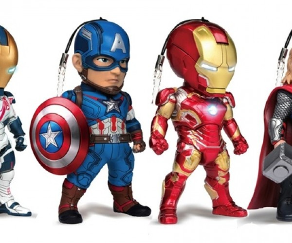 These Age of Ultron Cellphone Charms Look MARVELous