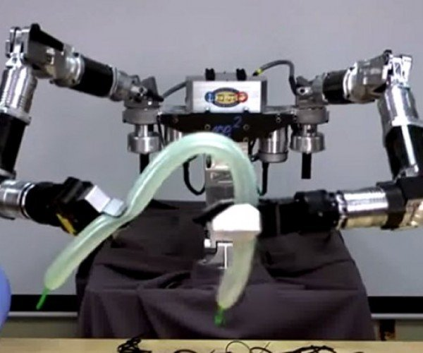 DARPA Robot Makes Balloon Animals, Pretends It's Working with Human Bones