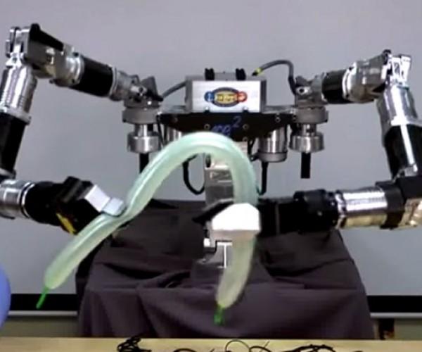 DARPA Robot Makes Balloon Animals, Pretends It's Working with Human Bones