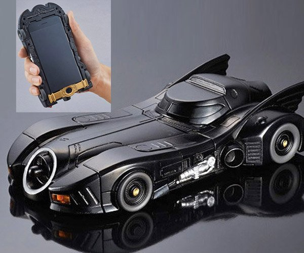 Tim Burton Era Batmobile iPhone 6 Case Is Massive
