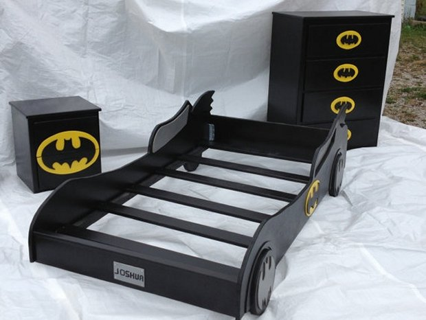 This Batman Furniture Turns Any Room Into The Batcave