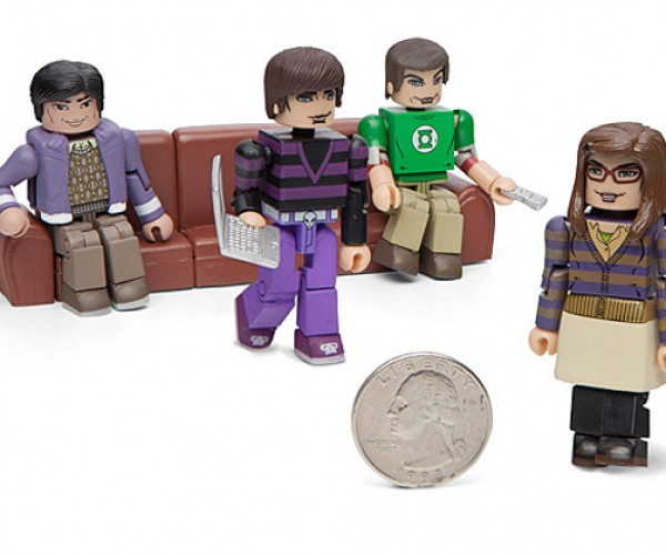 Big Bang Theory Minimates: Little Bang Theory