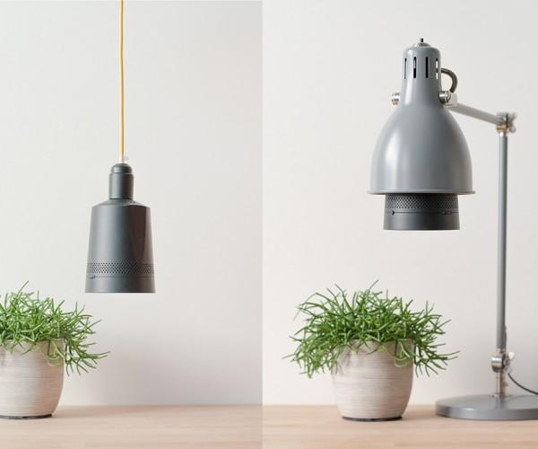 Beam Smart Projector Screws into Light Sockets: Bulbflix
