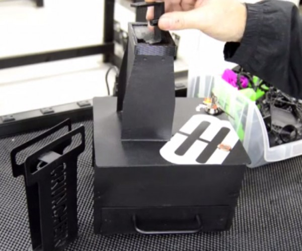 Cruncher 3D Print Recycler Chops up Unwanted Prints: 3R in 3D