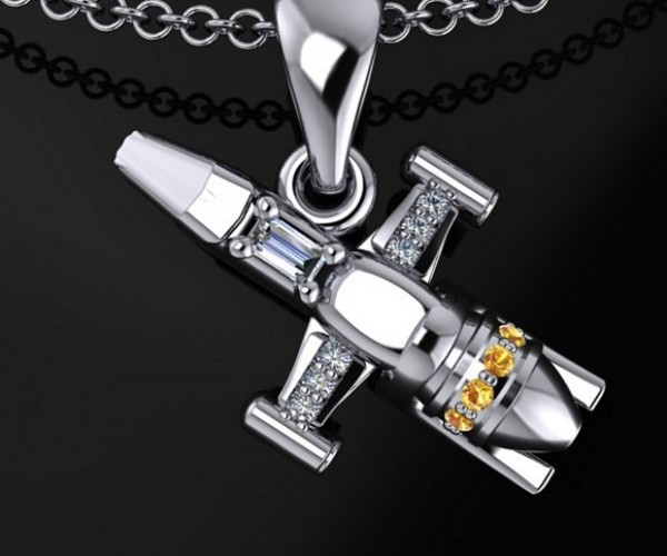 Diamond Serenity Firefly Necklace Is Literally Shiny