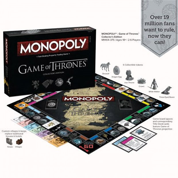 game of thrones monopoly go is coming collect 200 gold. Black Bedroom Furniture Sets. Home Design Ideas
