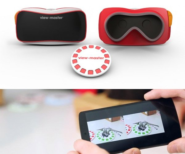 Google & Mattel Relaunch the View-Master as a Kid's VR Headset: VRiew-Master