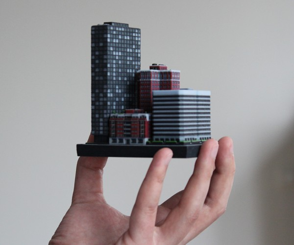 3D Printed Miniature Buildings: Ittyblox