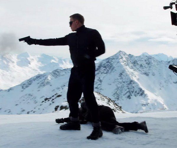 Behind the Scenes with James Bond's SPECTRE