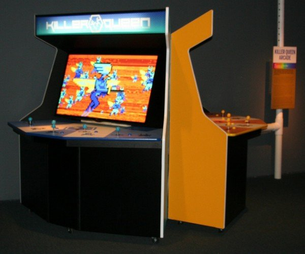 Killer Queen 10-player Arcade Game: Guaranteed to Blow Your Mind