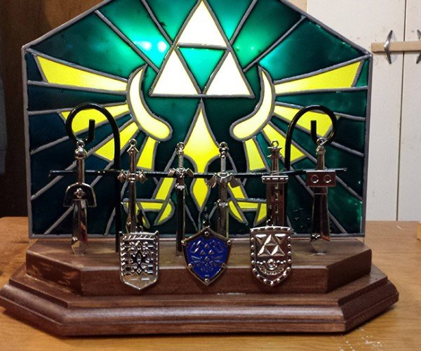 DIY Legend of Zelda Nightlight: Fauxntom Stained Glass