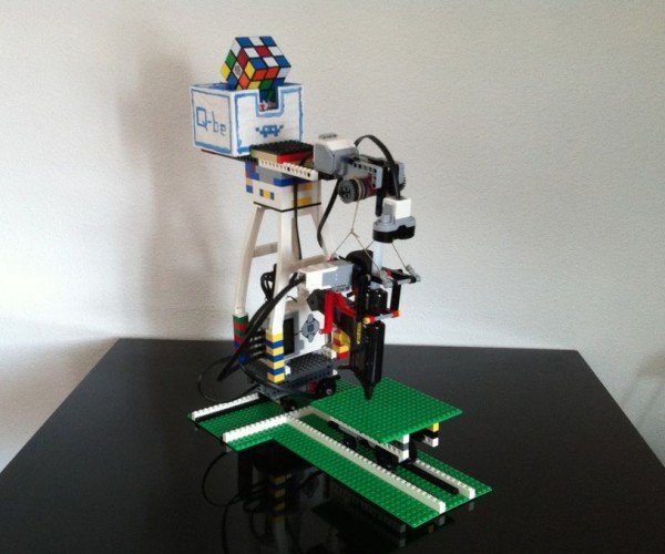 DIY LEGO Mindstorms Toy 3D Printer: Novice Builder