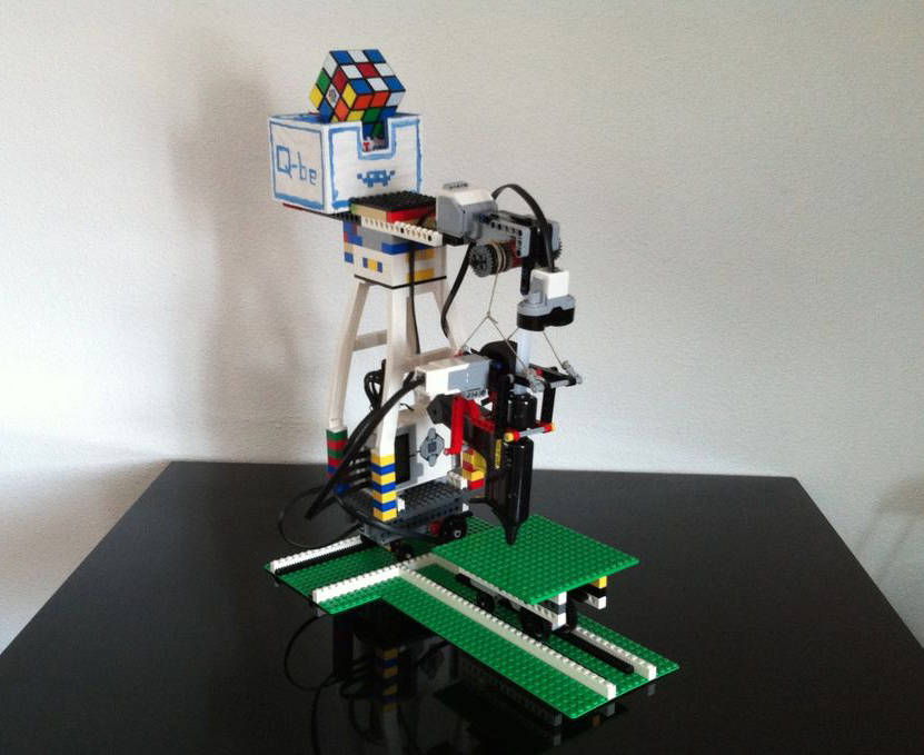 how to build a lego segway