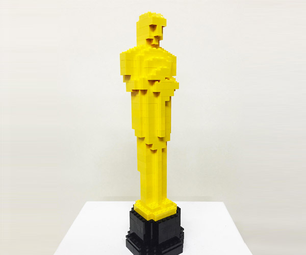 LEGO Oscar Statue Nominated on LEGO Ideas