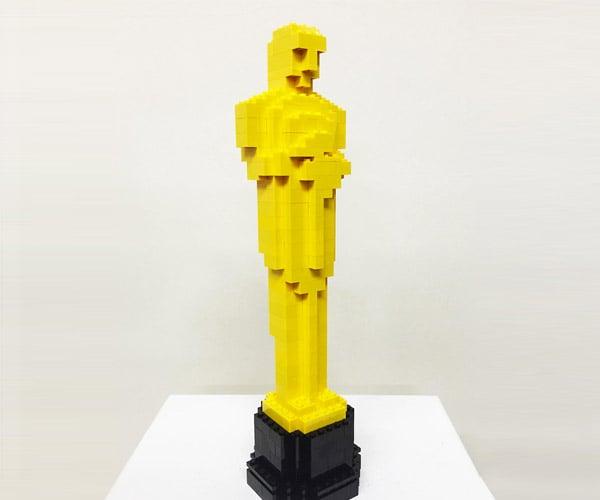 LEGO Oscar Statue Nominated on LEGO Ideas